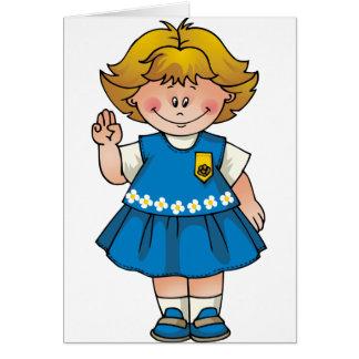 Daisy Blond Kaart