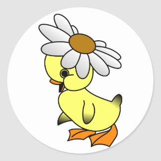 Daisy Duck Ronde Sticker