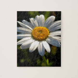 Daisy Face Green Puzzel