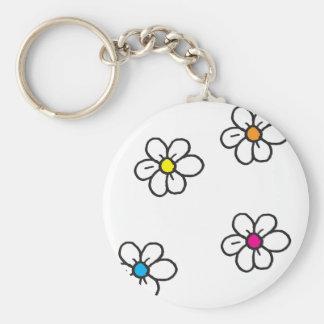 Daisy Flowers Sleutelhanger