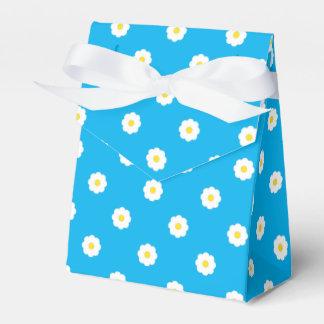 Daisy Pattern Favor Box Bedankjes Doosjes