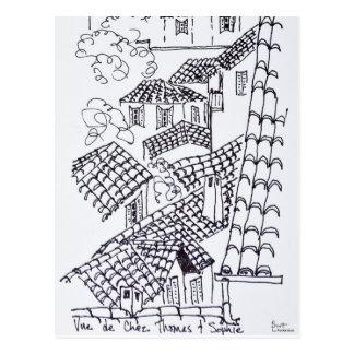 Daken van Marseille, Frankrijk Briefkaart