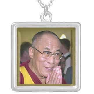 Dalai Lama Ketting Vierkant Hangertje