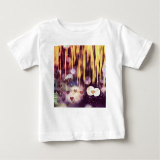 Dalend hert baby t shirts