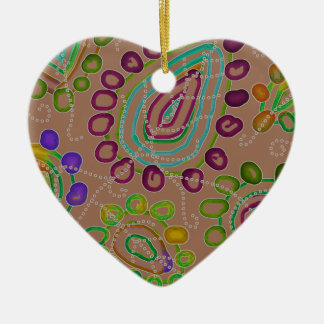 Dalingen Morphed 2 Keramisch Hart Ornament