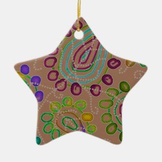 Dalingen Morphed 2 Keramisch Ster Ornament