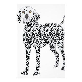 Dalmation Briefpapier