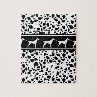 Dalmatisch hondpatroon legpuzzel