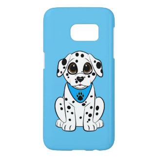 Dalmatisch Puppy met de hart-Gevormde Neus Samsung Galaxy S7 Hoesje