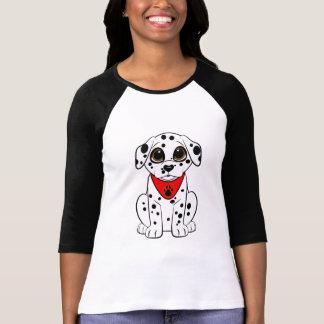 Dalmatisch Puppy met de hart-Gevormde Neus T Shirt
