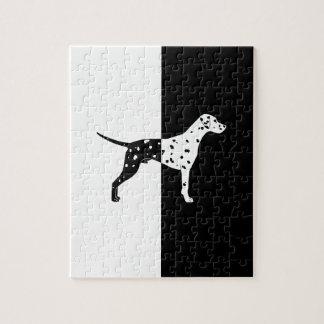 Dalmatische hond puzzel