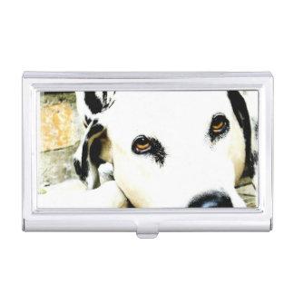 Dalmatische Hond Visitekaarthouder