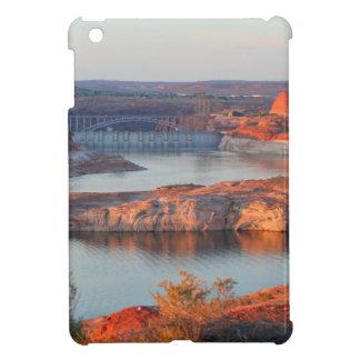 Dam en Brug bij zonsopgang iPad Mini Cover