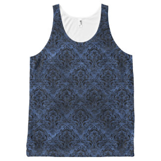 DAMASK1 ZWARTE MARMEREN & ARDUINSTEEN (R) All-Over-Print TANK TOP