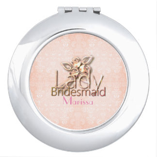Damask-Lady-Bridal_Delicate_Wedding-Peach_Favor Makeup Spiegeltjes