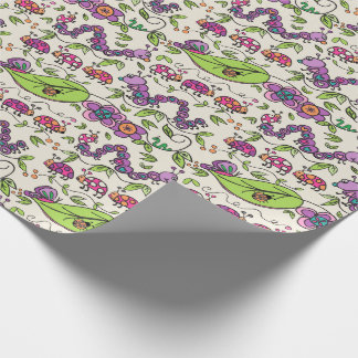 Dame Bird March GIFT WRAP Cadeaupapier