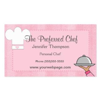 Dame Chef Visitekaartjes