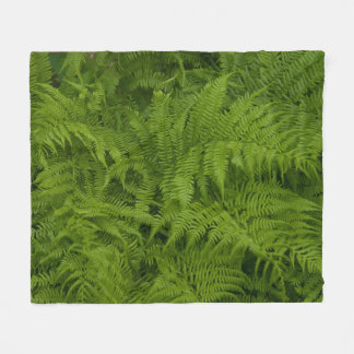 Dame Ferns Medium Fleece Blanket