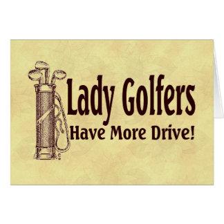 Dame Golfers Kaart