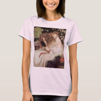 Dame Lilith door Rossetti, Vintage Victorian T Shirt