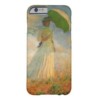 Dame met iPhone 6 van de Parasol Hoesje