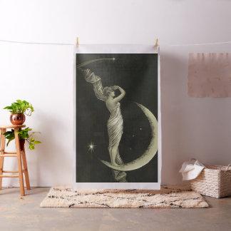 dame op de maan stof
