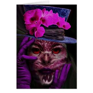 Dame Owl Kaart