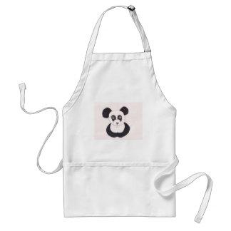 Dame Panda Standaard Schort