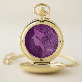 Dame Purple Zakhorloge