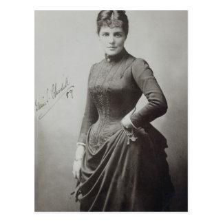 Dame Randolph Churchill Briefkaart
