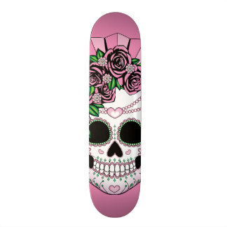 Dame Sugar Skull 20,6 Cm Skateboard Deck