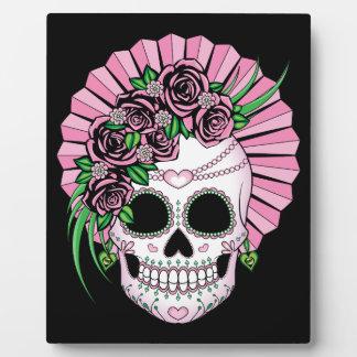 Dame Sugar Skull Fotoplaat