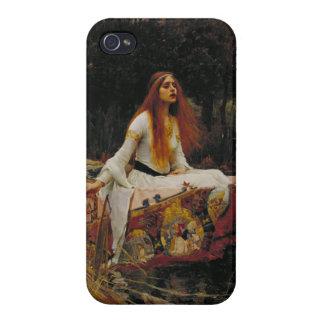 Dame van het Pre-Raphaelite Schilderen van de Sjal iPhone 4/4S Case