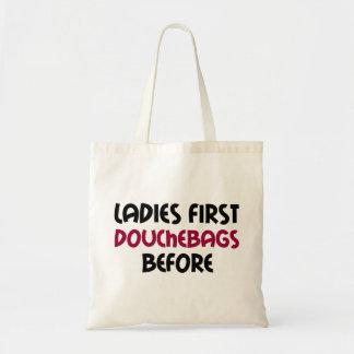 Dames eerst draagtas