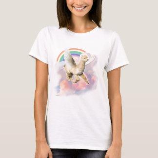 Dames Gepast T-shirt: Flyin Paca T Shirt