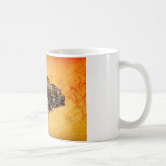 Dampflok voortbewegings vintage F046 Koffiemok