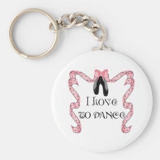 Dancelover Sleutelhanger