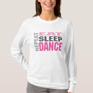 dancerepeat t shirt