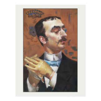 Dandy door Giovanni Boldini Briefkaart