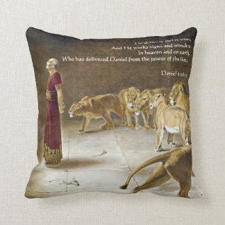 Daniel in het Heilige Schrift van de Kunst van de Sierkussen