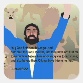 Daniel in Hol I van de Leeuwen Stickers