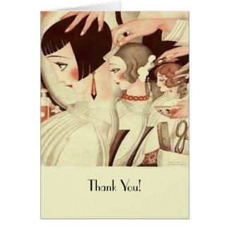 Dank u aan een Herenkapper Briefkaarten 0