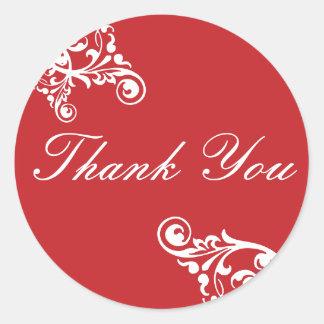 Dank u bloeien de Verbinding van de Sticker van de
