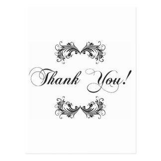 Dank u! briefkaart