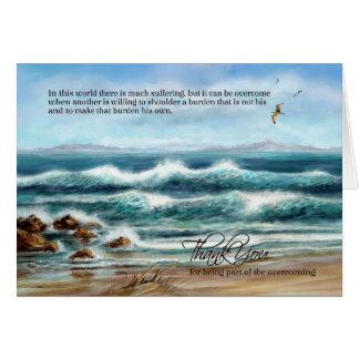 Dank u Caregiver op de Dag van Artsen of de Dag Briefkaarten 0