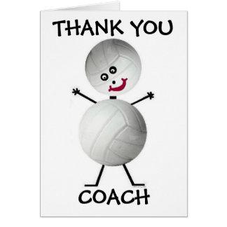 Dank u de Bus van het Volleyball Wenskaart