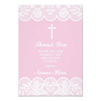 Dank u de Godsdienstige Dwars Bloemen Heilige Kaart