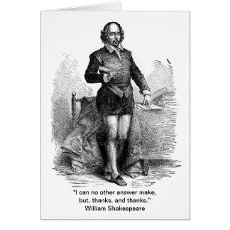 Dank u, de stijl van Shakespeare! Briefkaarten 0