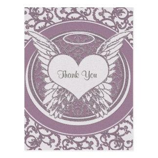 Dank u de Sympathie van | | Roze Briefkaart