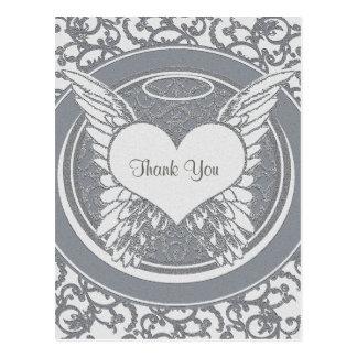Dank u de Sympathie van | | Zilver Briefkaart
